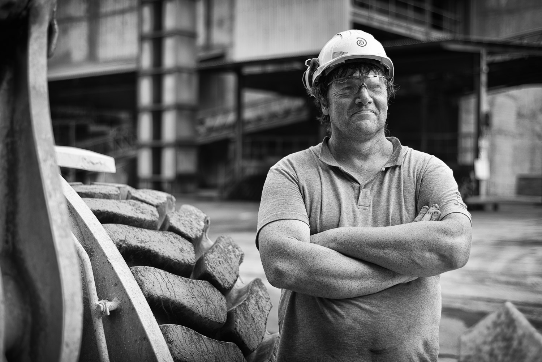 Italcementi worker